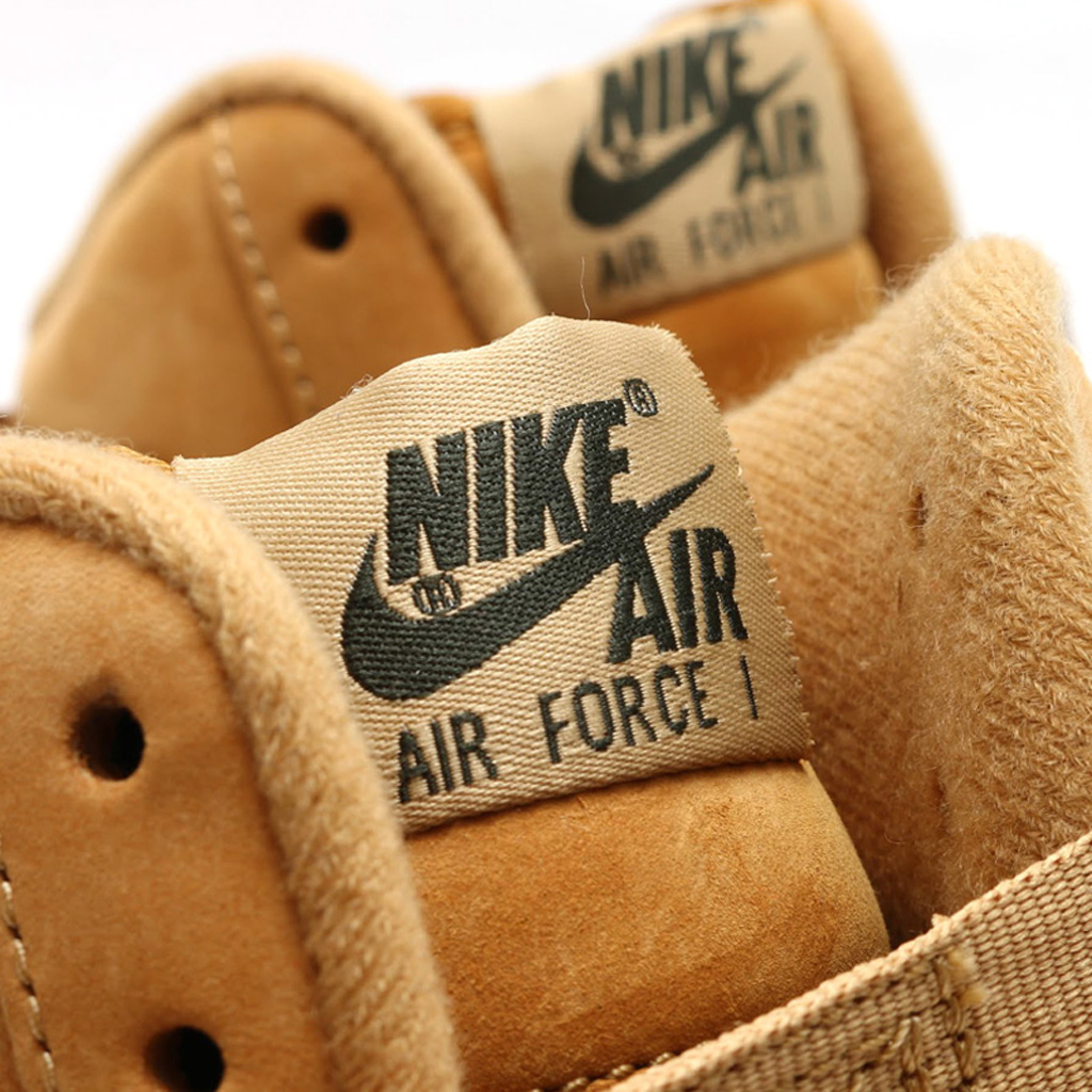 new product 87e47 fae3b Here s an On-Feet Look at the  Wheat  Nike Air Force 1   Sole Collector