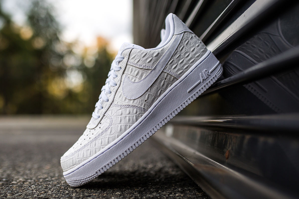 nike air force 1 low croc white 1 air force crocodile white