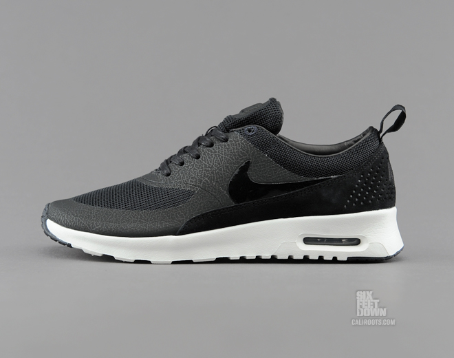 pretty nice 987b8 20414 The Nike WMNS Air Max Thea QS in Black   Sail is available now at Caliroots.