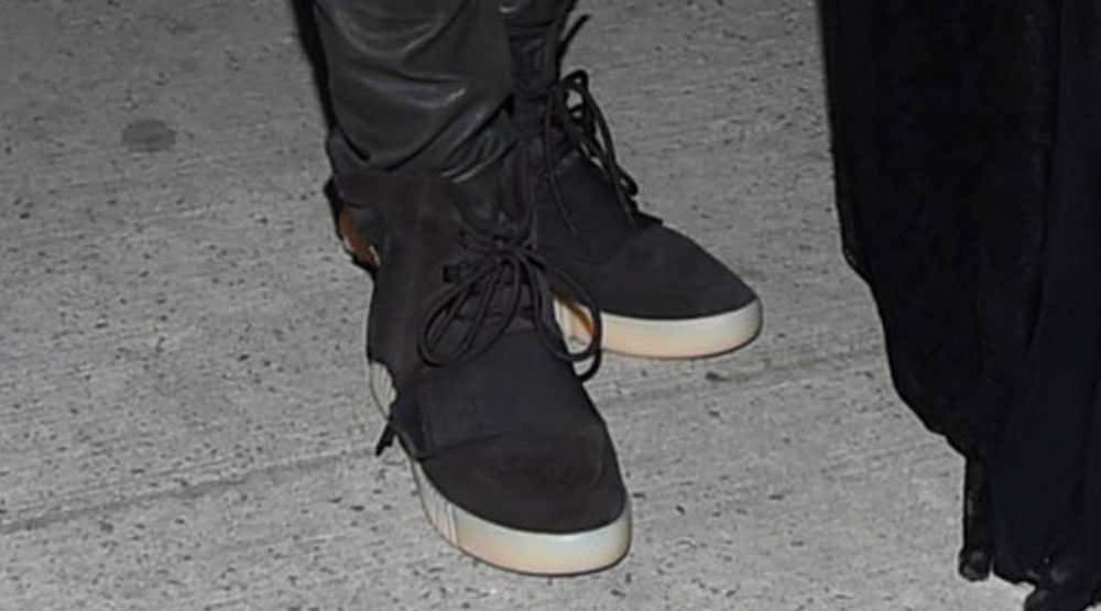 c24ed10e37cf8 Kanye West Just Debuted the adidas Yeezy 750 Boost in Black