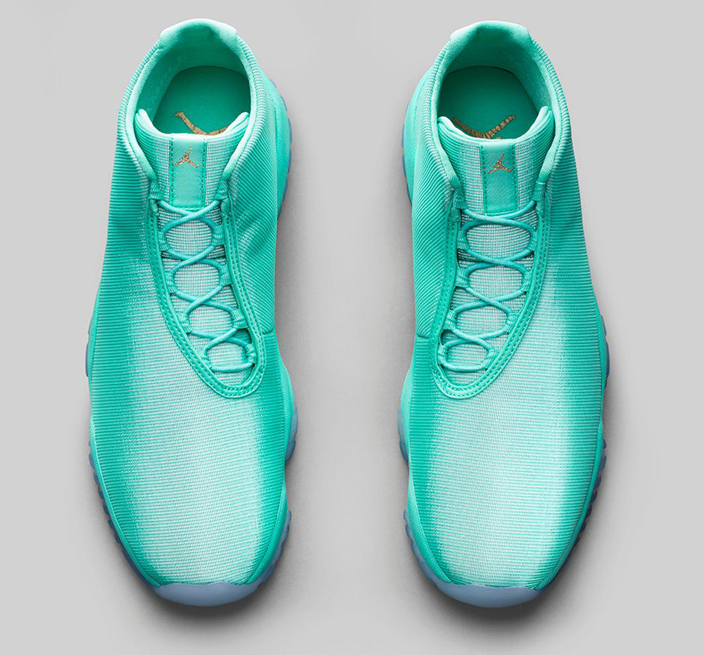 ce261b3a0ec0 best price 07 16 14 air jordan future 656503 315 hyper jade hyper jade  clear 150.00