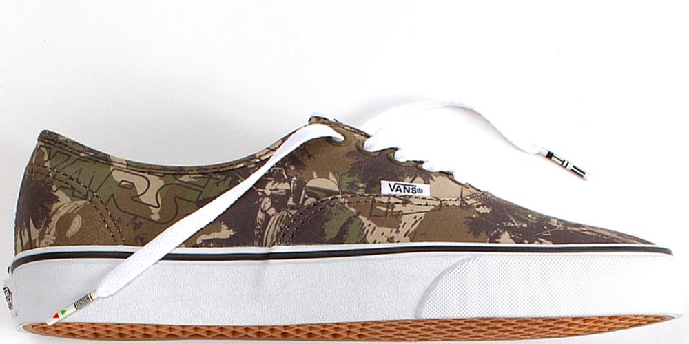 Vans Authentic Camo/White