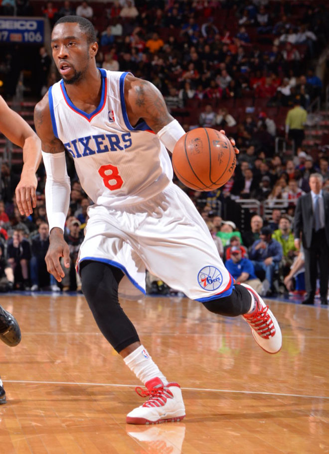 Tony Wroten Loses Air Jordan 10 Varsity Red Sole (1)