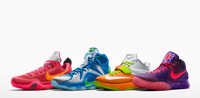 Kyries, Kobes, LeBrons, and more all hitting NIKEiD with
