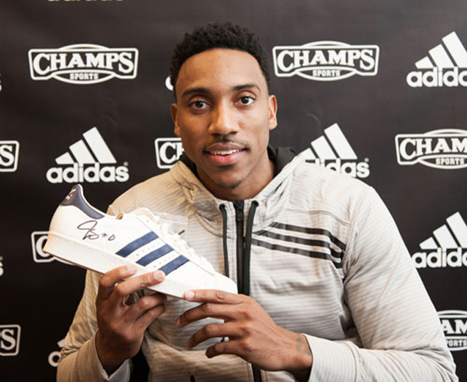 635d6b4c0d4a3 Jeff Teague May Be the First NBA Player to Wear adidas Yeezy Boosts In-Game