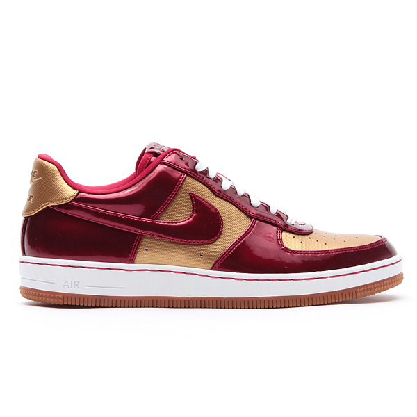 best sneakers 182ab 0790d Nike Air Force 1 Downtown LTH QS - Flight Gold   Varsity Red
