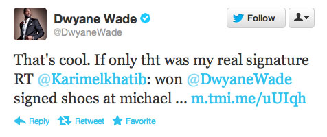 Dwyane Wade Says Autographed Jordan Shoes Are Fake