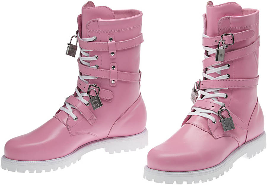 adidas Originals by Jeremy Scott - Spring/Summer 2012 - JS Combat Pink V22076 (3)