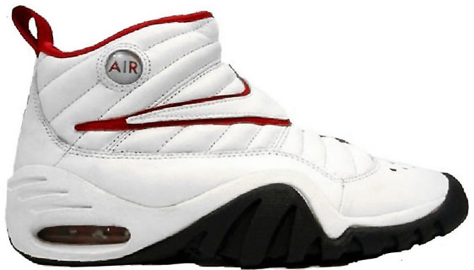 The 10 Best Chicago Bulls Sneakers That Aren't Air Jordans: Nike Air Shake Ndestrukt (1)