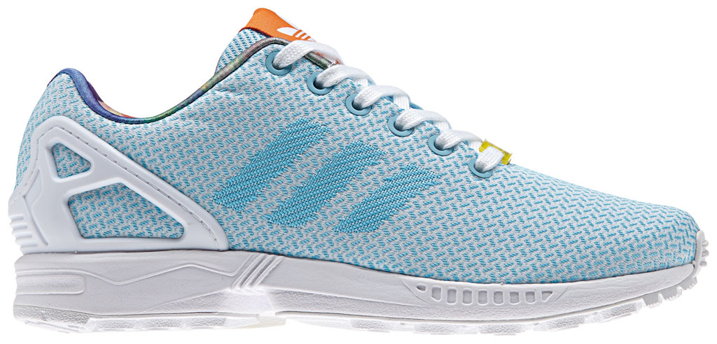 adidas ZX Flux Women's Weave Pack Blue (1)