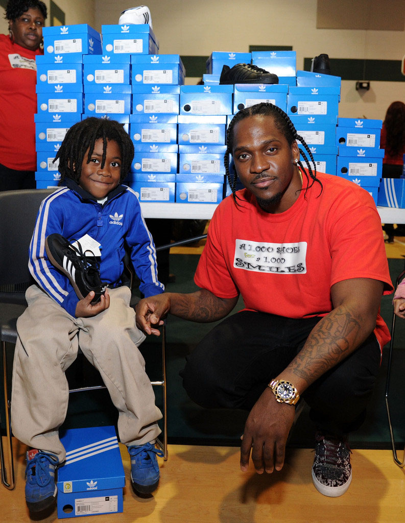adidas Sponsors Pusha T 1000 Shoes for a 1000 Smiles Event (19)
