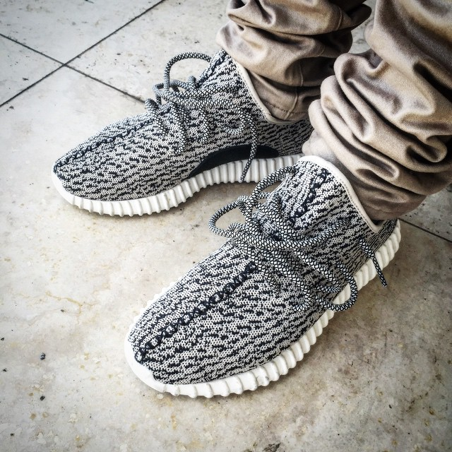 Adidas Mens Yeezy Boost 350 Turtle / Blue Gray AQ 4832