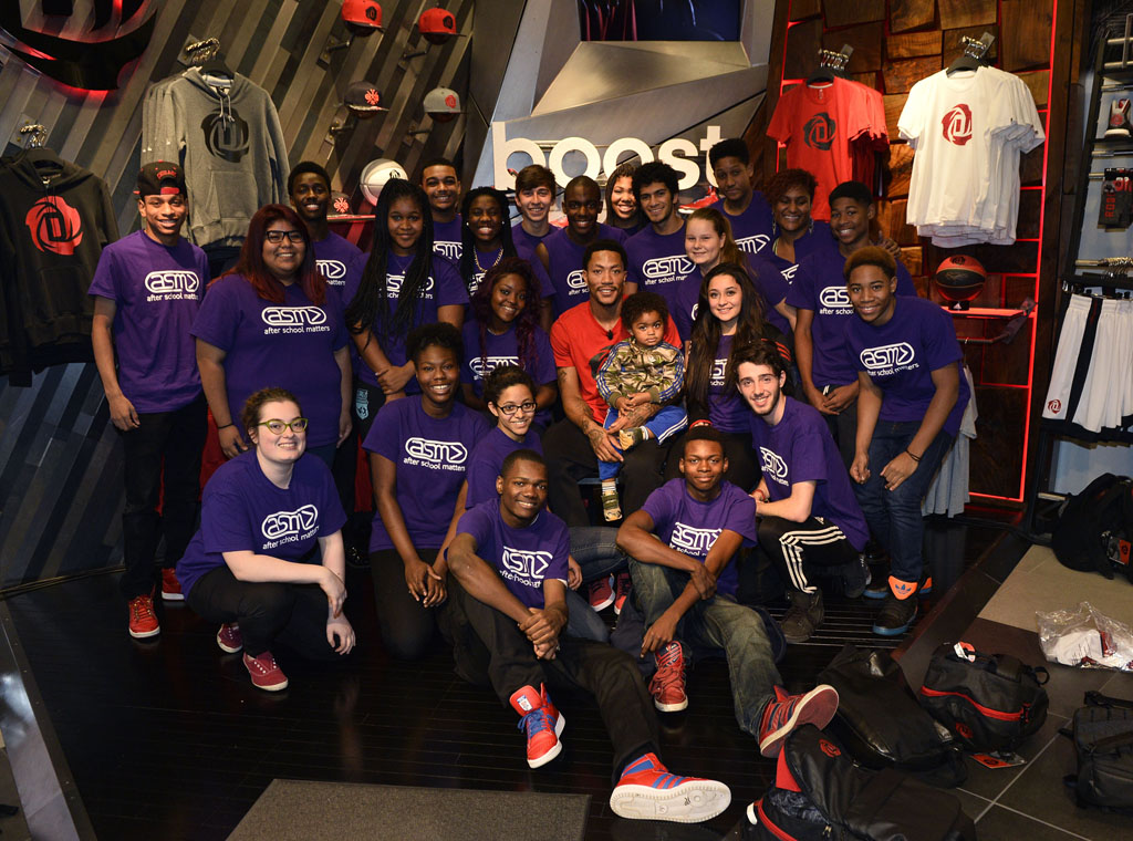 Derrick Rose and adidas Basketball Launch the D Rose 5 Boost in Chicago (11)