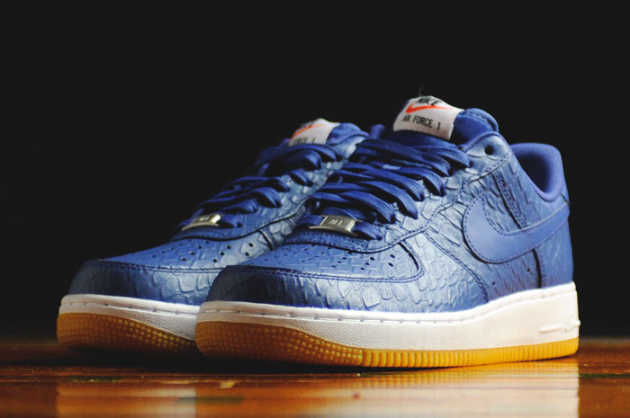 Croc Uppers and Gum Bottoms For These Nike Air Force 1s