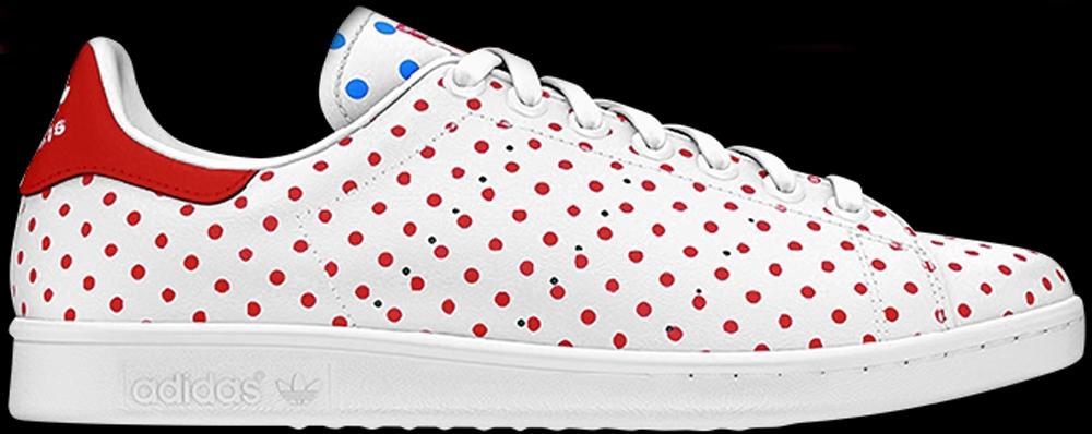adidas Originals Stan Smith White/Red-Bluebird