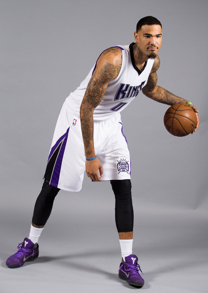 Willie Cauley-Stein wearing the 'Michael Jackson' Nike Kobe 9 Elite Low