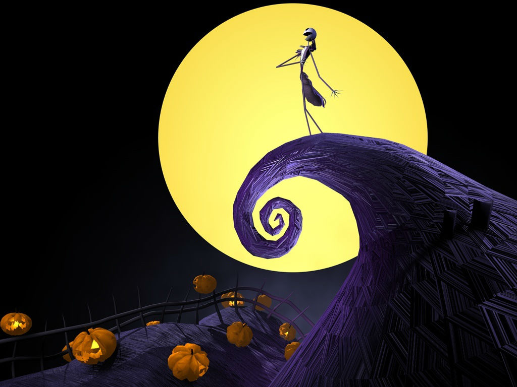 tim burtons the nightmare before christmas intro this is halloween ...