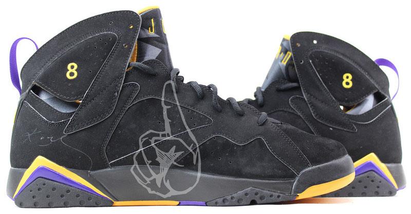 Air Jordan 7 Kobe Lakers PE (5) b3f355b9c1