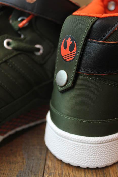 the latest 5e332 9af3f adidas Originals Forum Mid Star Wars Han Solo G46486