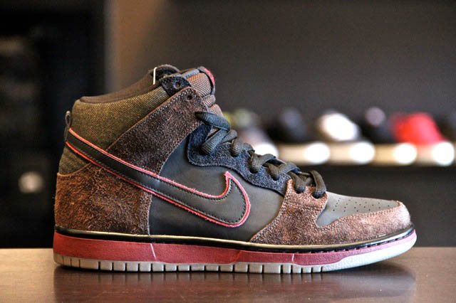 d936ecd87338 Brooklyn Projects x Nike SB Dunk High -  Reign In Blood  - New ...