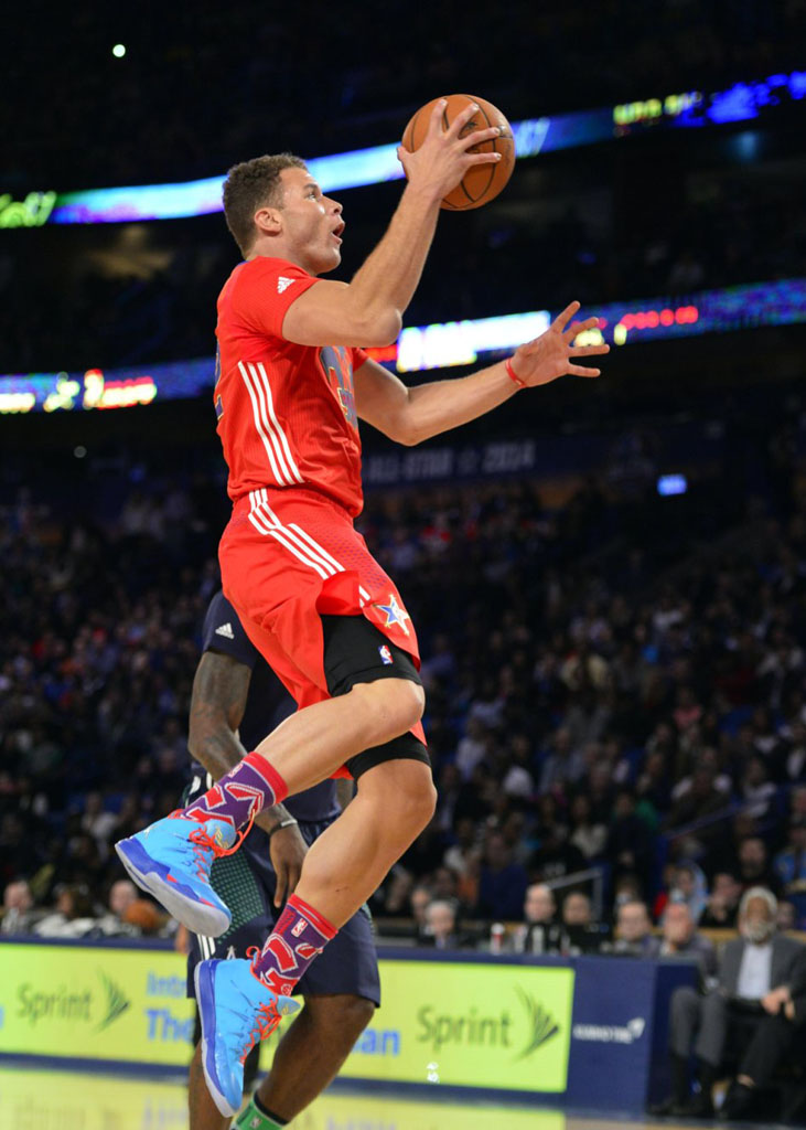 competitive price 01791 7e92d Blake Griffin wearing Jordan Super.Fly 2 All-Star