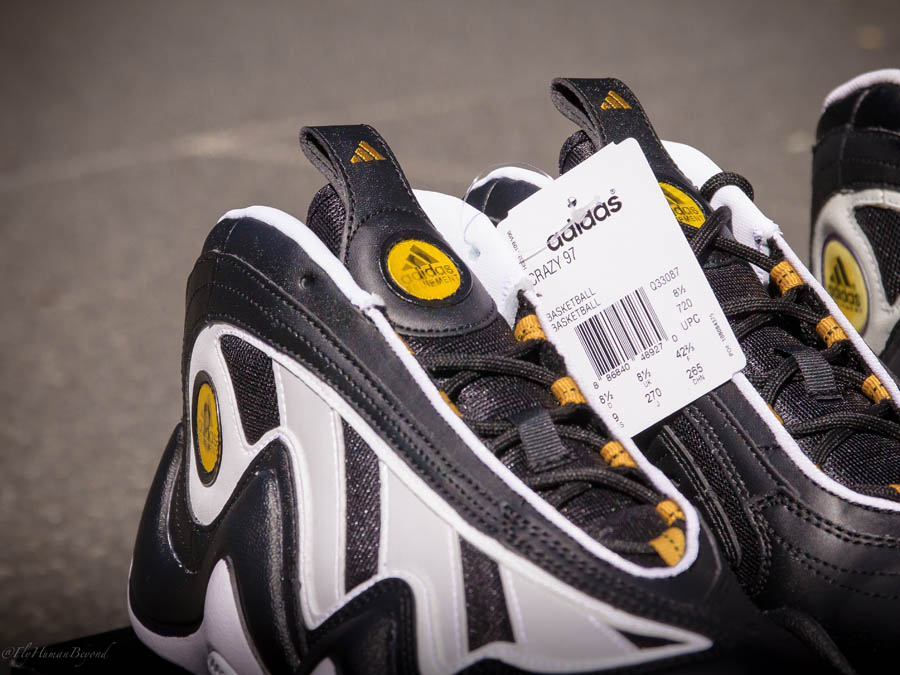adidas Crazy 97 - Black/Gold