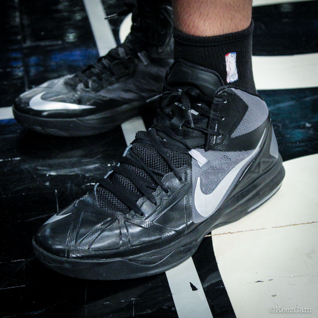 #SoleWatch // Up Close At Barclays for Nets vs Celtics - Vitor Faverani wearing Nike Air Max Body U