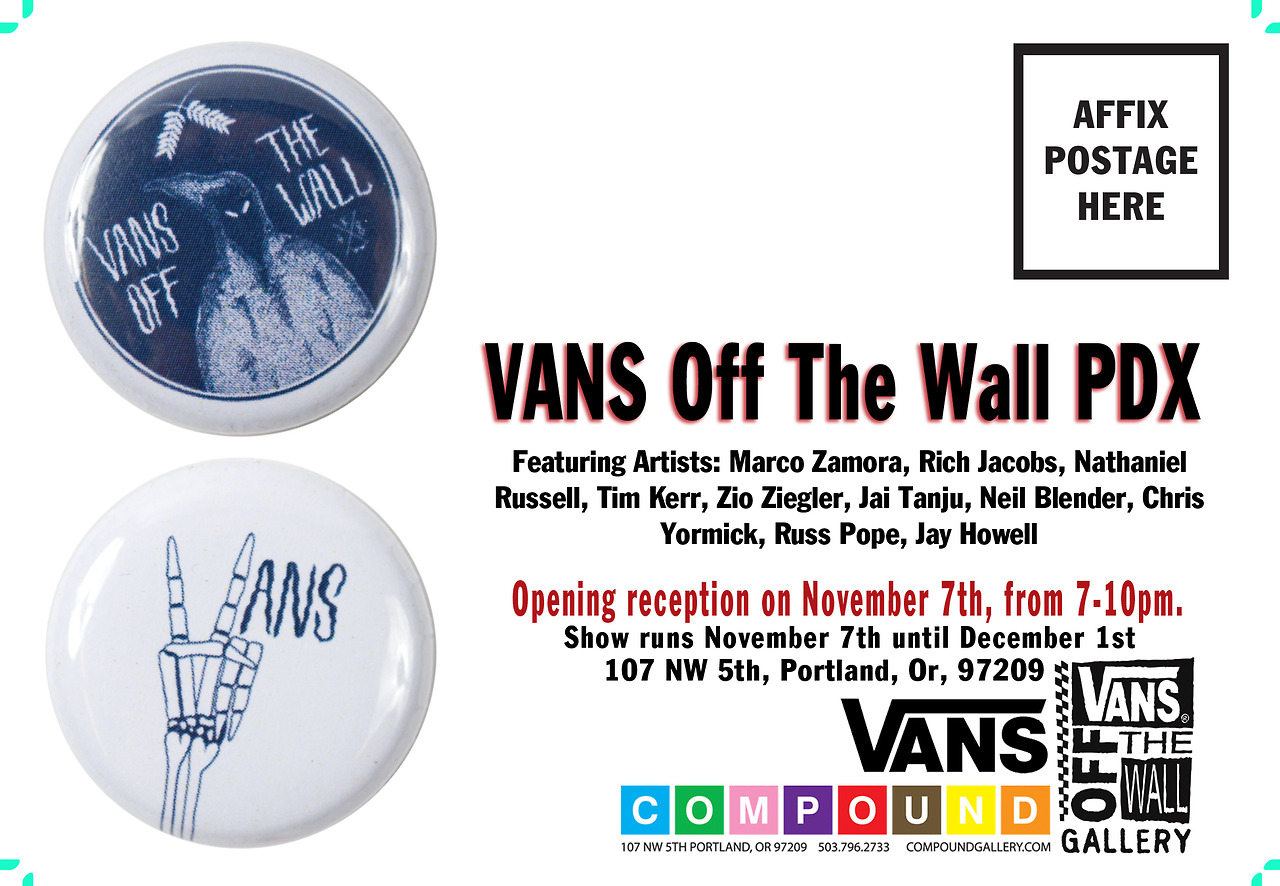 Compound Gallery and Vans present Off the Wall PDX