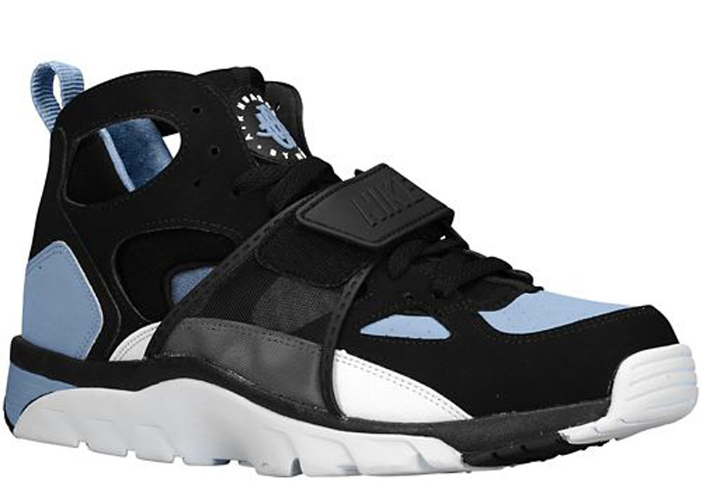 detailed look 9ad18 c3428 Release Date Nike Air Trainer Huarache BlackCool Blue