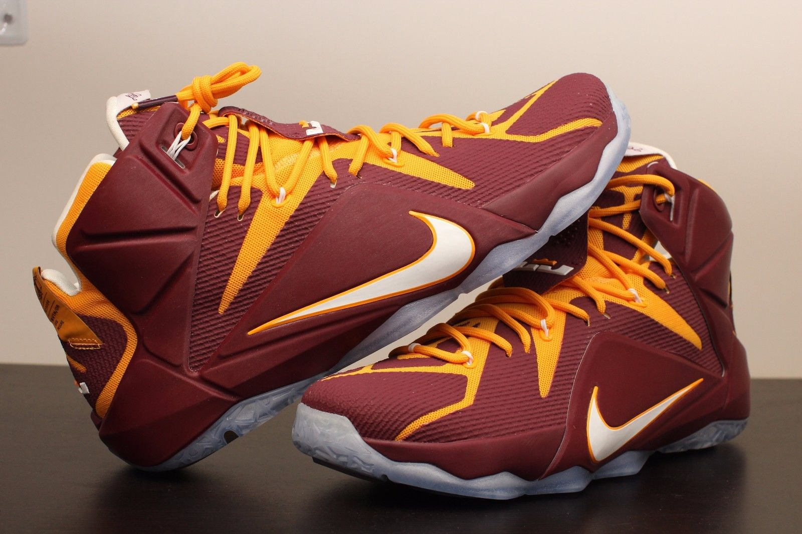 new product ce6d6 15641 nike lebron 12 christ the king