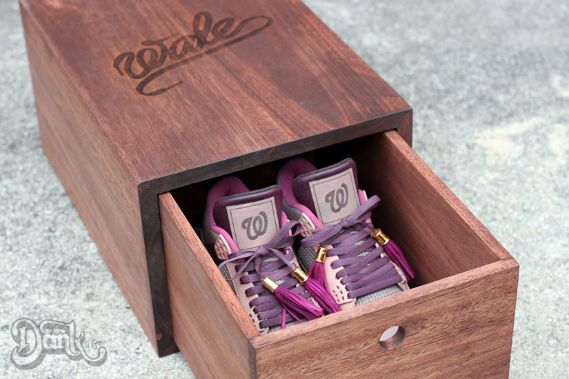 Air Jordan IV 4 Louis Vuitton Don for Wale by Dank Customs (7)