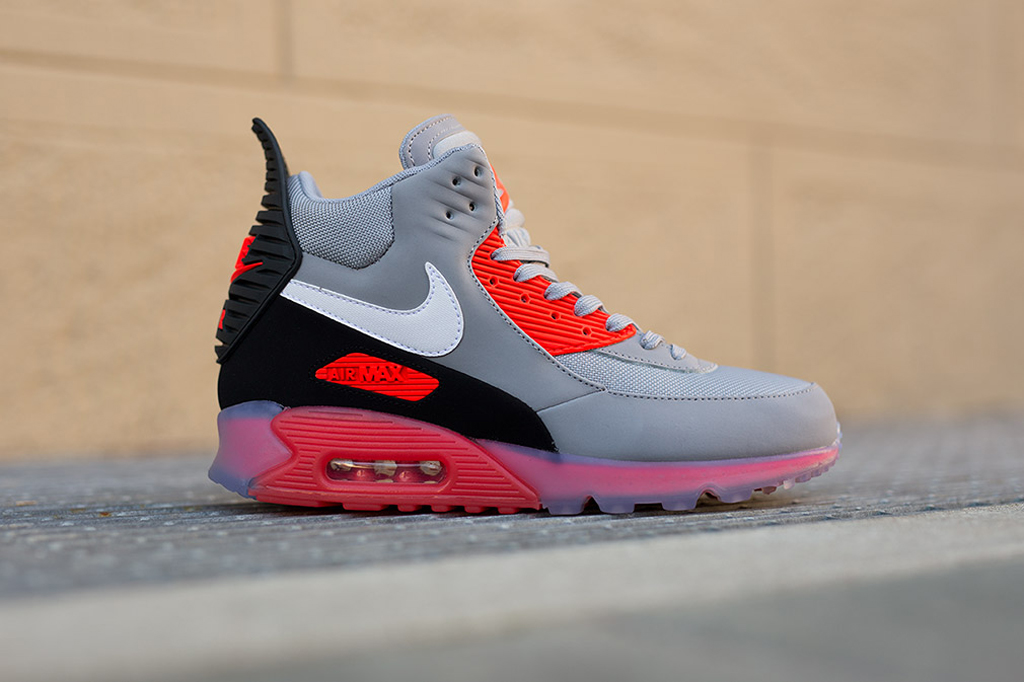 Nike Air Max 90 Sneakerboot Winter Turquoise Blue Pink White