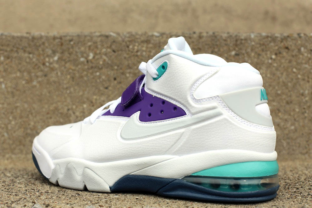 Nike Air Force Max 2013 'WhitePure Platinum Ultraviolet