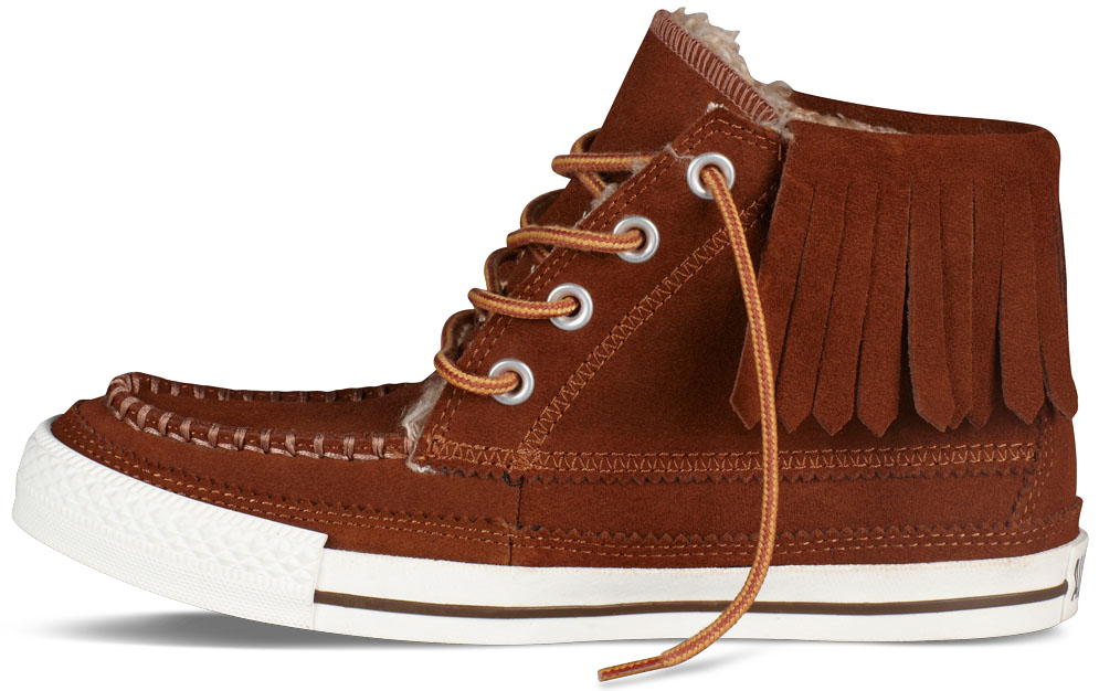 Converse Women's Chuck Taylor Moccasin Brown (2)