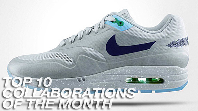 sole collector top 10 collabs of the month for september