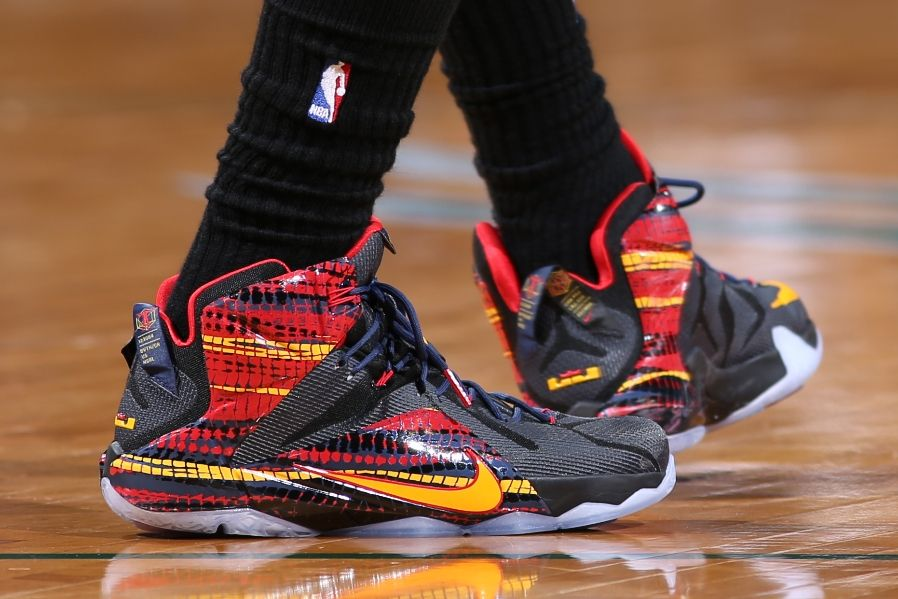 Every Sneaker LeBron James Wore in the NBA This Year  7aebf4bd1