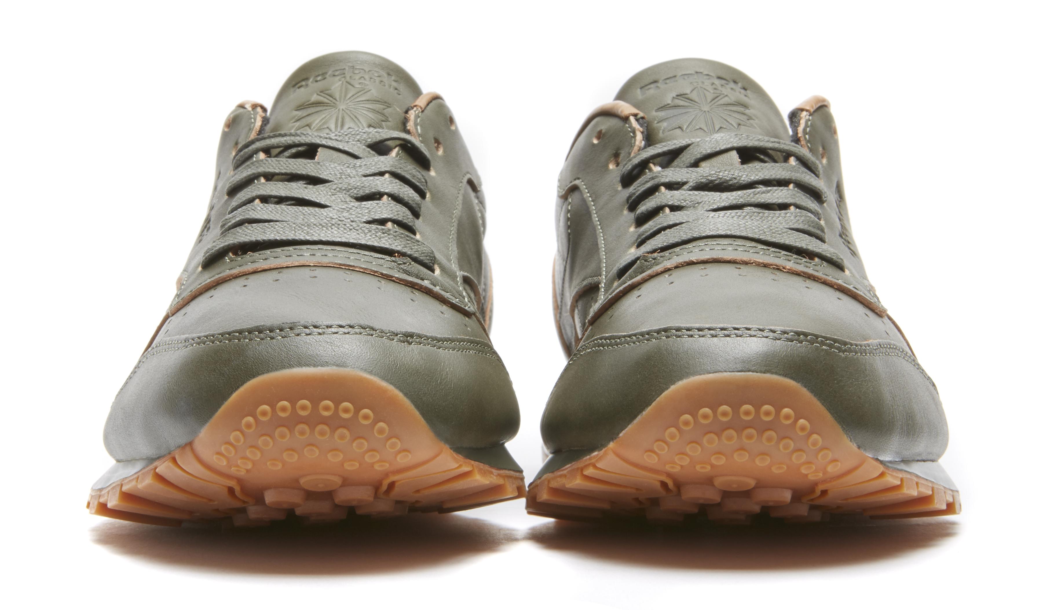 Kendrick Lamar Reebok Classic Leather Green Toe
