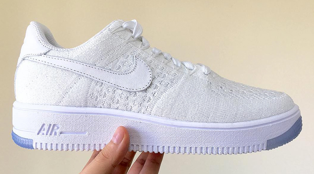 White on White' Nike Air Force 1s Live on in Flyknit Form