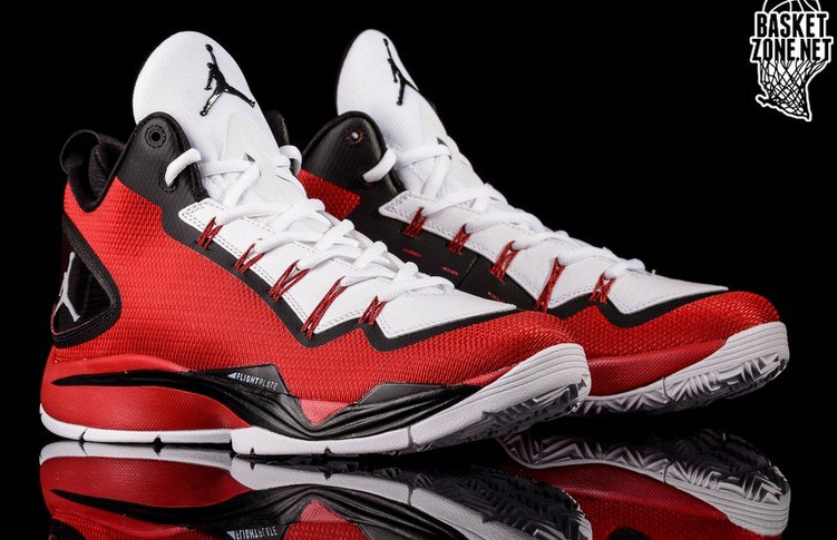 c115c92a8f21 Jordan Super.Fly II PO - Red White-Black