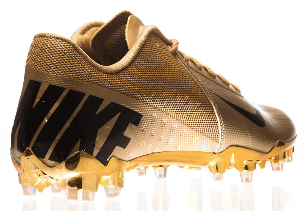 Nike Elite11 Vapor Talon Elite Cleats - Gold (10)