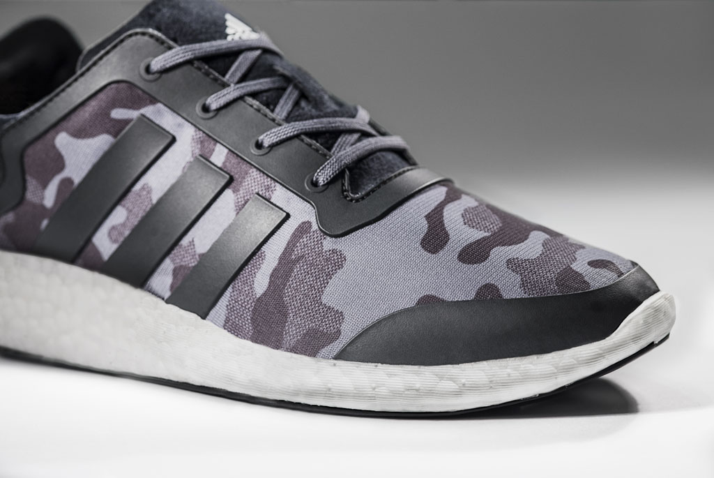 Adidas Salutes Veterans With Camouflage Pure Boosts Sole