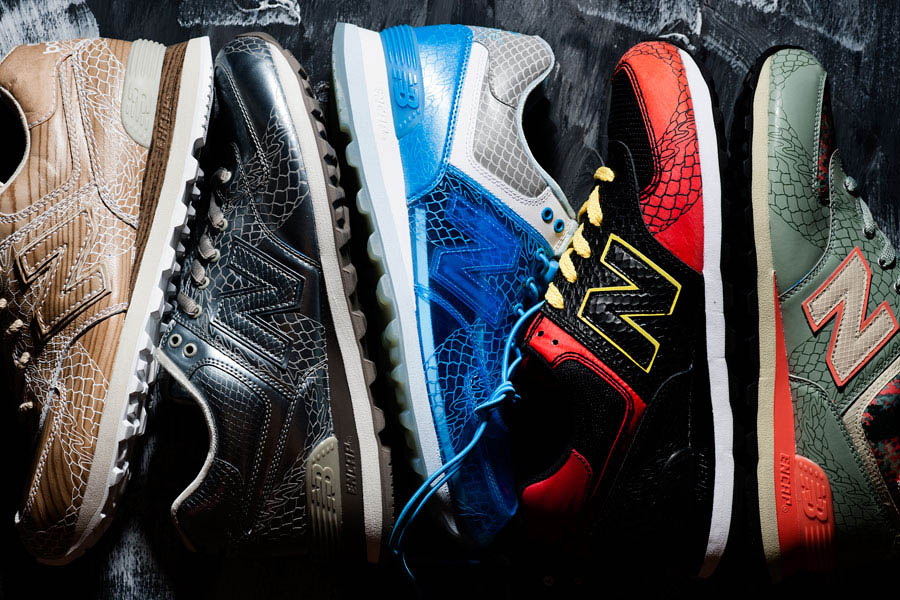 watch a8bcc ccf8b New Balance 574 Dragon Pack | Sole Collector
