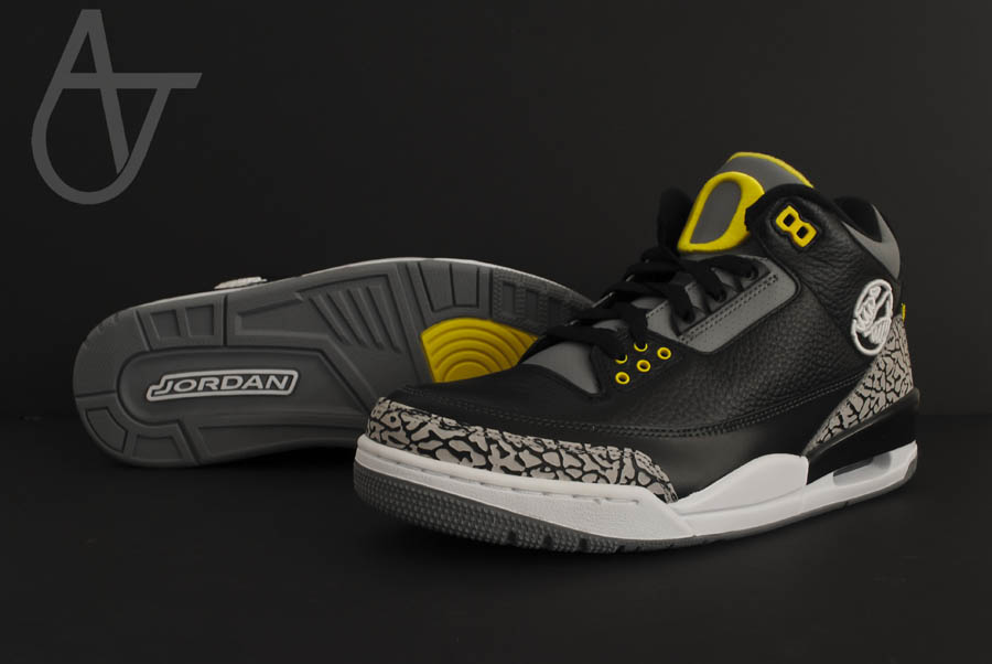 Air Jordan Retro 3 - Oregon Ducks Pit Crew Away (6)