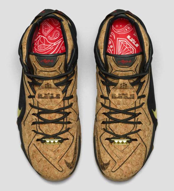 Nike LeBron 12 King\u0027s Cork 768829-100 (4)