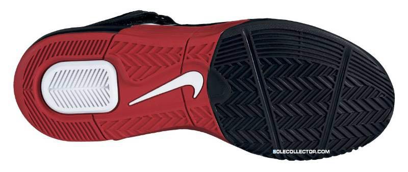 Nike LeBron Air Max Soldier V White Sport Red Black 454131-101 205a260c51ac