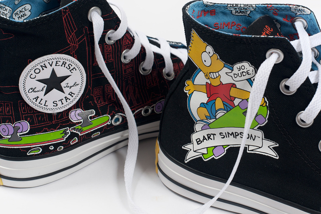 a8e389f7fa517c The Simpsons x Converse Chuck Taylor All Star Ox is available now at  converse.com as well as select Converse retailers. Expect to see the Chuck  Taylor All ...