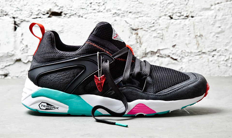 Sneaker Freaker x PUMA Blaze of Glory Shark Attack II Black Beast profile
