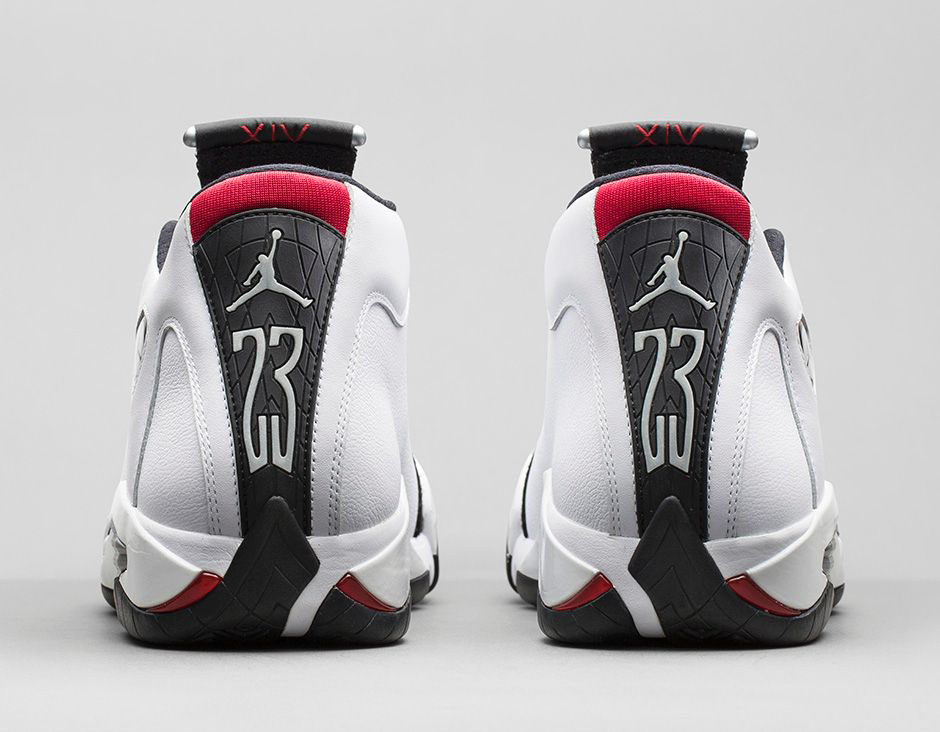 Air Jordan XIV 14 Retro Black Toe Official 487471-102 (6)