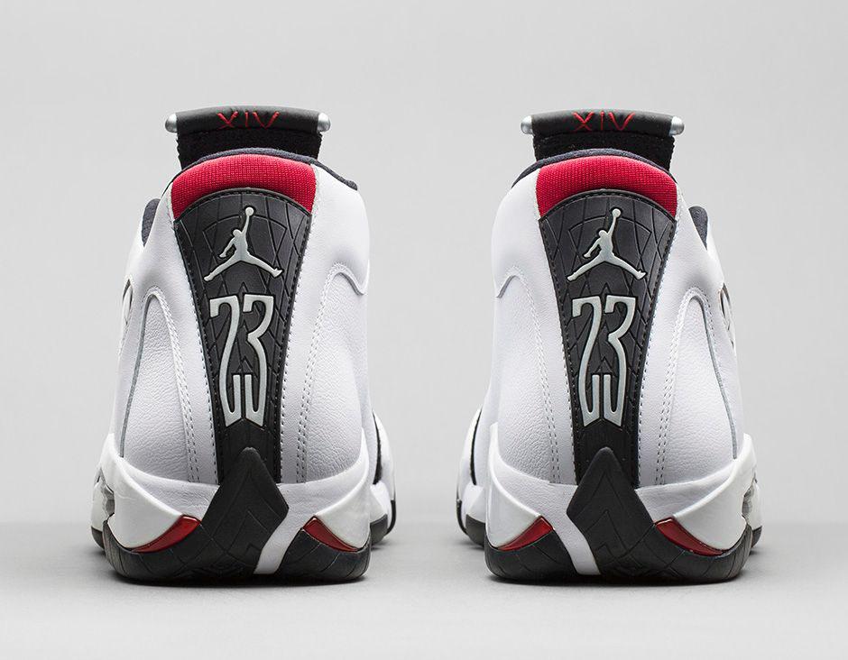 Air Jordan XIV 14 Retro Black Toe Official 487471-102 (6) 6f37a50af