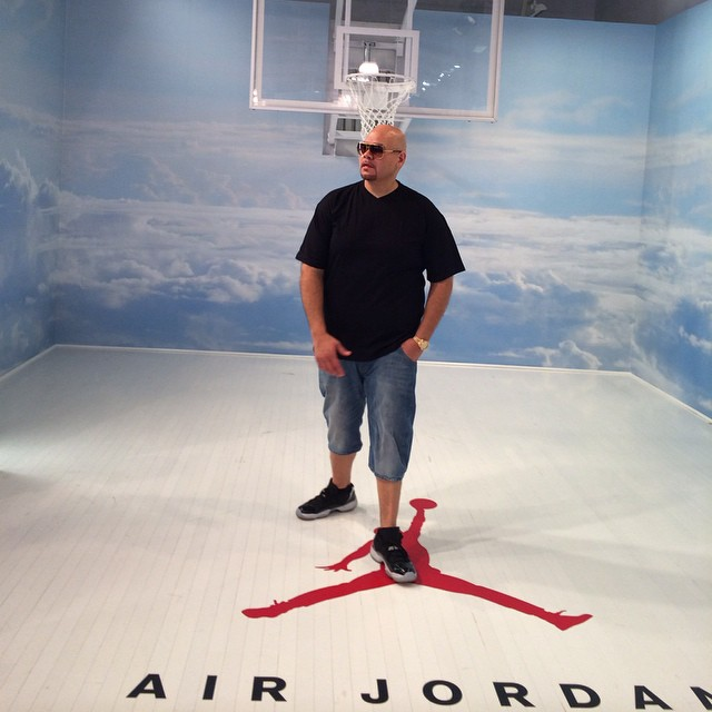 94dbb78eb002ca Fat Joe wearing Air Jordan XI 11 Retro Low Infrared 23